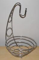 Wire Fruit Basket / Banana Holder
