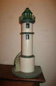 Réplique artisanale d'un phare