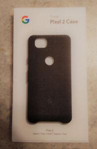 Authentic Google Pixel 2 Fabric Case, black - LNIB