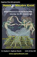 Caprices Fine Arts'Dance Macabre Event