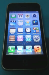 16GB Black Iphone 3GS in Great Condition w/ Cable