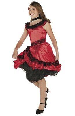 SENORITA COSTUME Girls Small 4-6 Child Spanish Dancer Dress Latino Mexican - Kostüm Latino Dance