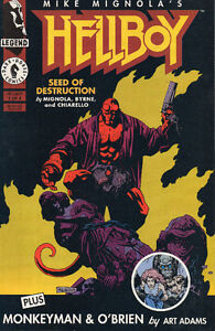 "HELLBOY ""Seed of Destruction"" #1 (1994) Comic"