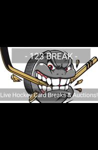 Hockey cards - Live box Breaks