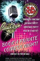 Book your Private Yuk Yuk's Comedy Night