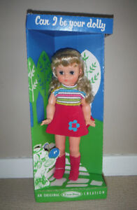 Vintage Large Star Doll Creation Original Box - Collectible Doll