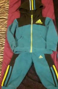 2t boys adidas jogging suit