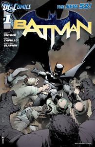 New 52 Complete First Print Batman Run