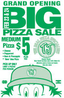 TJ's Pizza South Grand Opening