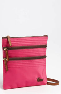 Dooney & Bourke Pink Nylon Crossbody bag