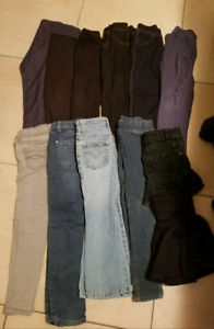 Girls size 6 bottems/jeans