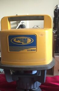 Used Spectra ll500 laser level