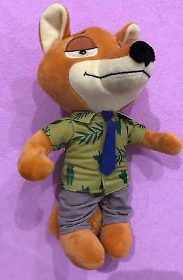 Zootopia - Nick Wilde - 26cm Plush Soft Toy Doll - Brand New