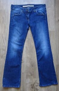 Fat Face Womens Blue Straight Jeans Size12- like new