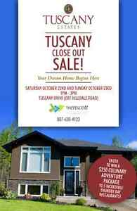 Tuscany Close Out Sale!