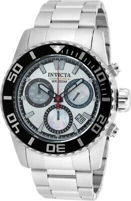 Invicta Mens 48mm Swiss Quartz Chronograph Limited Edition Stainless Steel -
