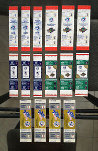 Blue Jays unused 1992 + 1993 World Series ticket collection
