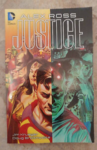 Alex Ross's Justice, softcover trade
