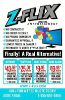 SELL ZFLIX INTERNET TV PHONE SECURITY: WEEKLY PAY!