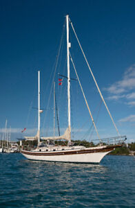 Bayfield 40 - Complete refit.  Located in Grenada