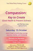 Compassion: Key to Create Good Health & Prevent Sickness