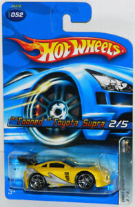 Hot Wheels Tooned 1/64 Toyota Supra Diecast Car