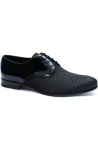 Jared Lang textured derby dress shoe - stand out in the crowd