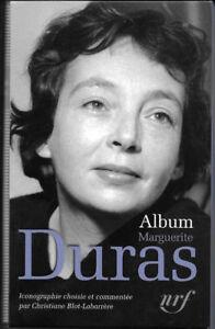 "Album Pléïade: Margurite Duras 2014 ÉTAT NEUF"""