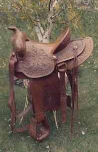 Western Saddle - Original Riley & McCormick