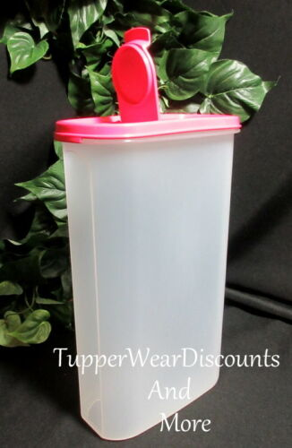 Tupperware New Modular Mate Oval #5 Storage Container Pink Punch Pour Seal
