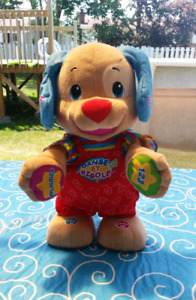 FRENCH - Fisher Price Laugh & Learn, Dance & Play Puppy