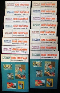 Popular Mechanics Home Handyman Encyclopedia & Guide 16 Volumes