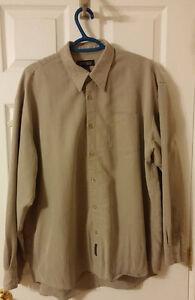 Britches - Beige long sleeve shirt XL
