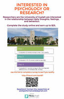 Interested in research or psychology?