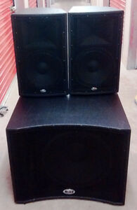 Awesome POWERED DJ SPEAKER SET
