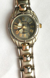 Womens Perry Ellis Two-Tone Watch - EUC