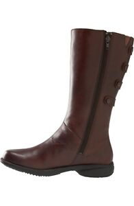 New Merrell Leather Boots Brown Women Size 7 Strathcona County Edmonton Area image 3