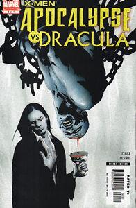 X-MEN Apocalypse Vs. Dracula #1- 4 (2006)  Complete Series