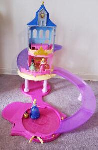 Cinderella Glitter Glider Castle - $35