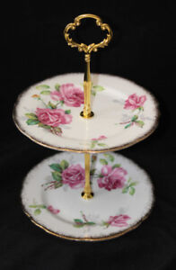 ROYAL STAFFORD SMALL TIERED CAKE STAND