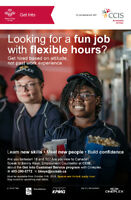 Part-time Employment at Cineplex for Immigrant youth ages 18-30