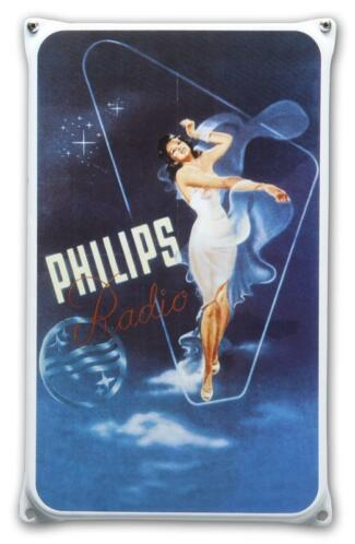 Emaille reclamebord Philips staand
