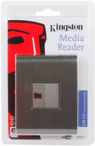 Kingston Media Reader 2.0-New in package + bonus-Lot only $5