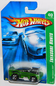 Hot Wheels 1/64 '69 Camaro Z28 Tooned Treasure Hunt Diecast Car