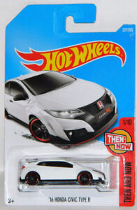 Hot Wheels 1/64 '16 Honda Civic Type R Diecast Car
