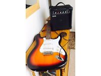 STARSOUND ELECTRIC GUITAR AND AMPLIFIER BOX