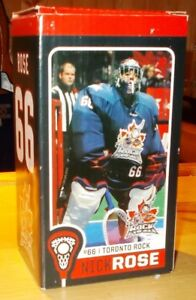 TORONTO ROCK  LACROSSE CLUB  NICK ROSE  COLLECTIBLE BOBBLEHEAD