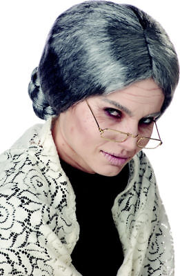 Old Lady Grandmother Costume Wig (Grandmother Costume)
