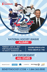 NHL Alumni Hockey Game Thunder Bay