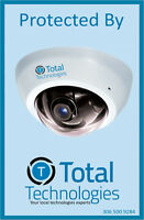 HD Security Camera CCTV system includes PROFESIONAL INSTALLATION